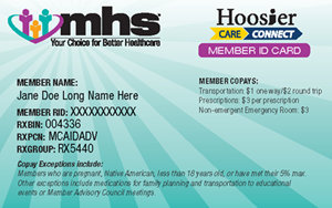 Hoosier Care Connect front card