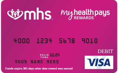 MyHealthPays Rewards Card